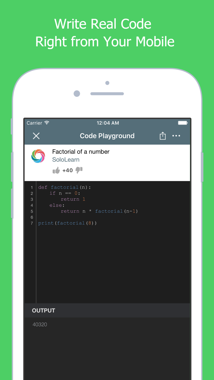 Learn to Code with Python Screenshot