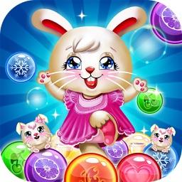 Bunny Bubble Shooter Island