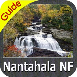 Nantahala National Forest gps outdoor map