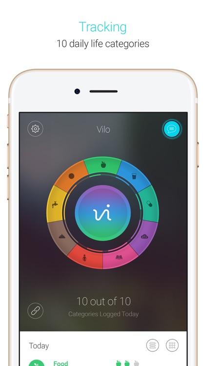 Vilo Health: Causality Tracker screenshot-4