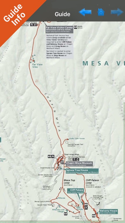 Mesa Verde National Park - GPS Map Navigator