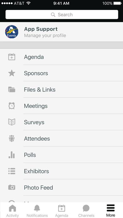 Athlon Events screenshot 2