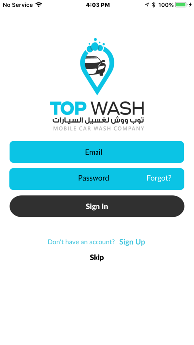 Top Wash screenshot three