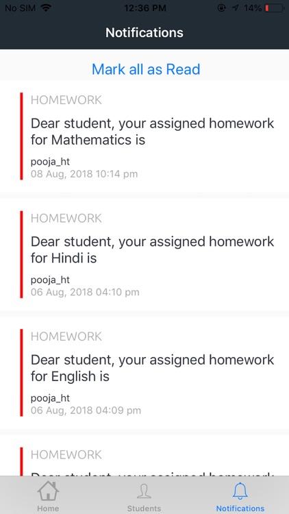 Vidyashram - Parent App