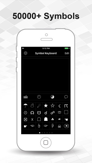 Symbol Keyboard For Texting On The App Store