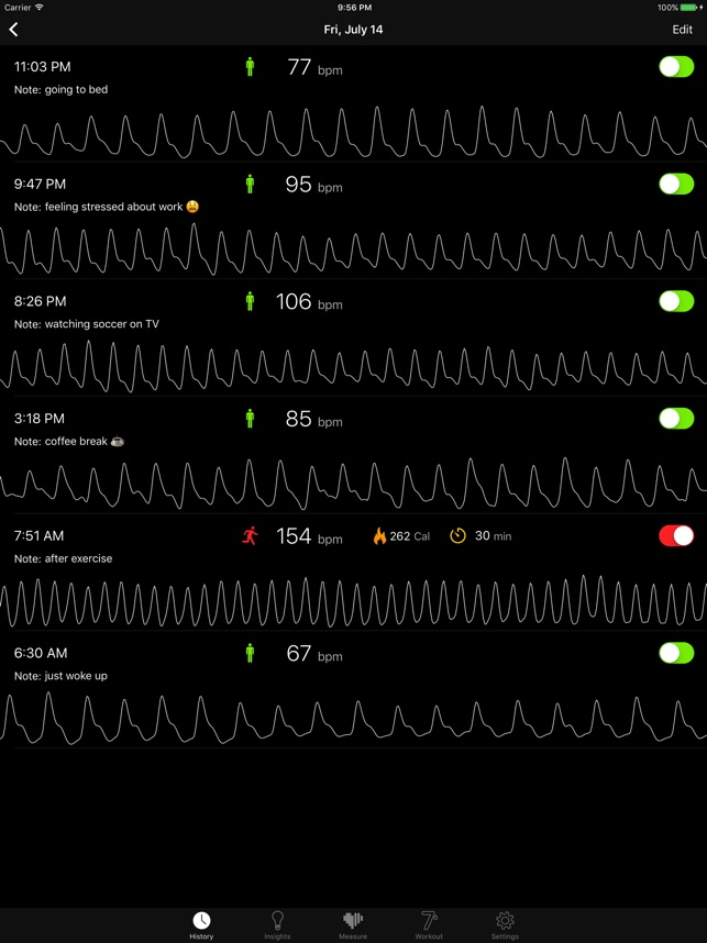 Cardiio: Heart Rate Monitor on the App Store