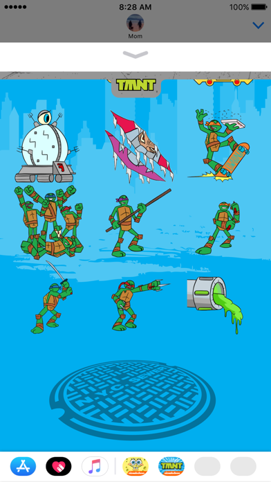 TMNT Stickers for iMessage screenshot 1