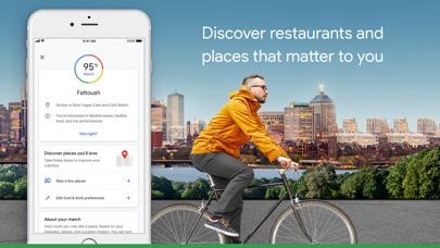 Image of Google Maps - Transit & Food for iPhone