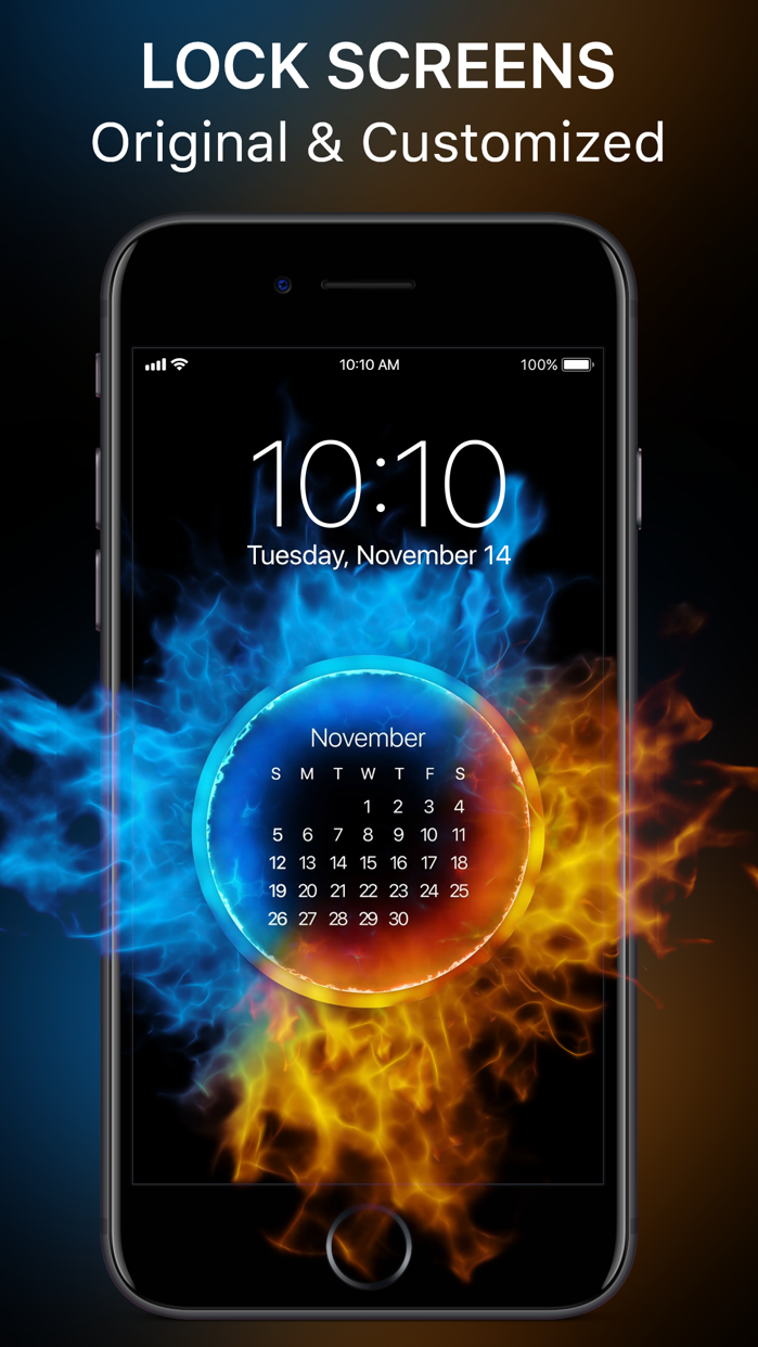 Live Wallpapers & HD Themes. Screenshot