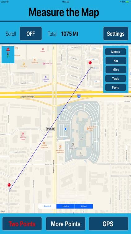 Area & Length Measuring on Map screenshot-3