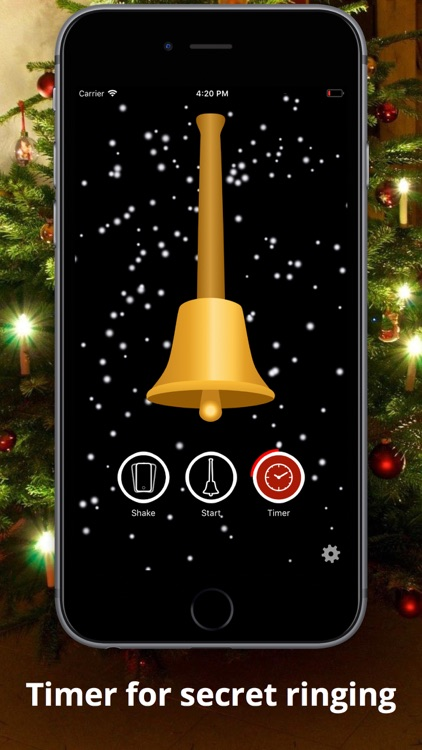 Golden XMAS Bell screenshot-0