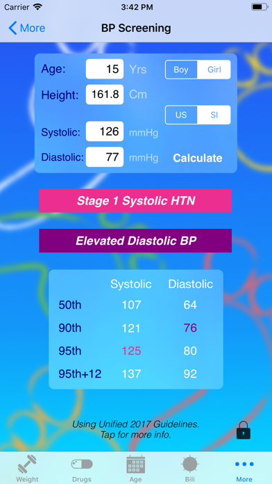 Pedi QuikCalc Screenshot