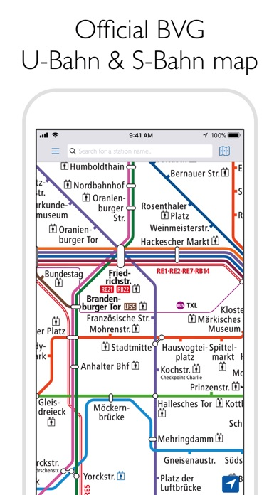 berlin subway bvg u bahn map. Black Bedroom Furniture Sets. Home Design Ideas