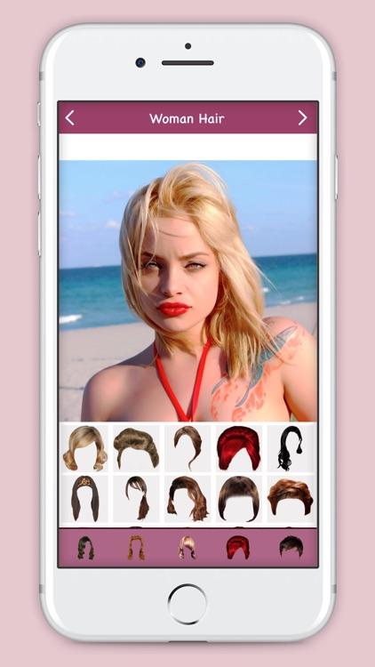Woman Hair Style : Hair Salon screenshot-3