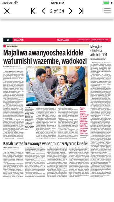 Mwananchi Epaper App på PC
