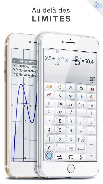 Screenshot #1 pour Calculator ∞ - Calculatrice