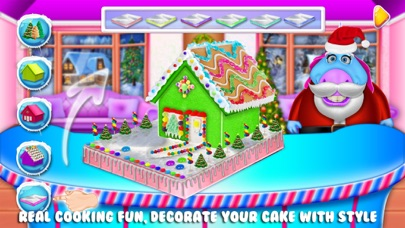 Fat Unicorn's Christmas Cake screenshot four