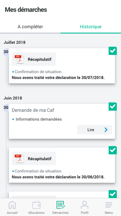 Caf - Mon Compte pour Android