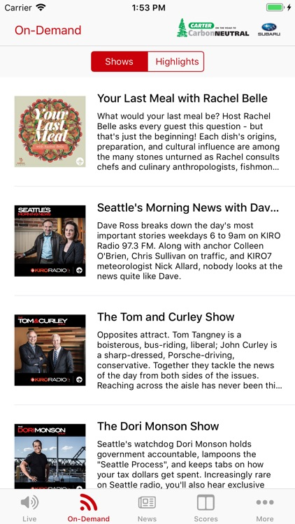 KIRO Radio 97.3 FM screenshot-1