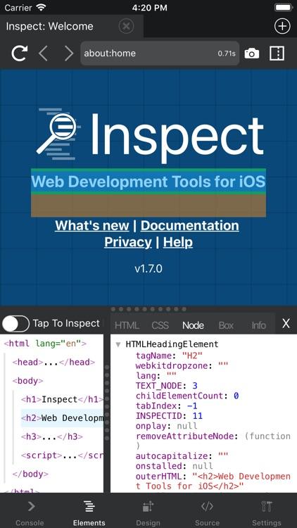 Inspect Browser screenshot-4