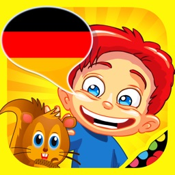 German for kids: play, learn and discover the world - children learn a language through play activities: fun quizzes, flash card games and puzzles