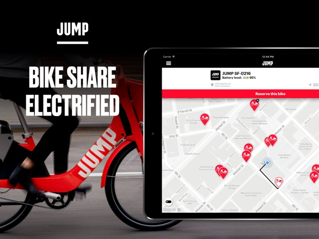 Jump Bikes Bike Share On The App Store