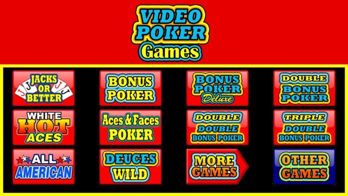 Video Poker Games Screenshot