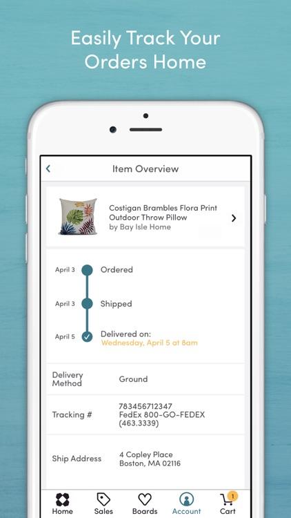 Wayfair - Shop Furniture, Home Decor, Daily Sales screenshot-4