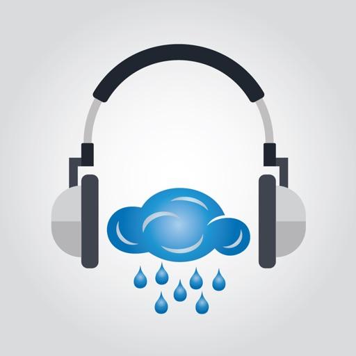 Rainy sounds - Focus icon