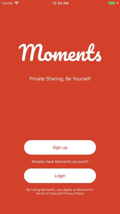 Moments Social screenshot-5