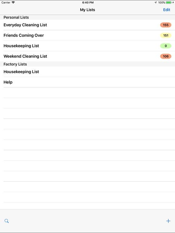 housekeeping list app price drops