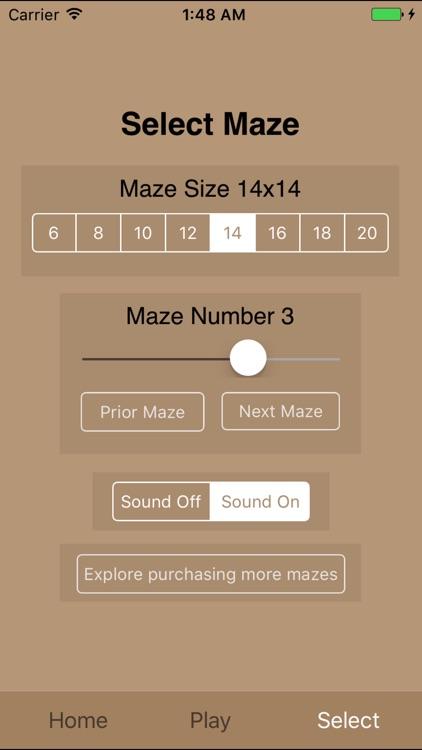 Maze Square (Lite) screenshot-4