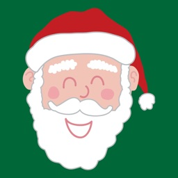 Santa Smiles Sticker Pack