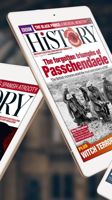 BBC History Magazine app image