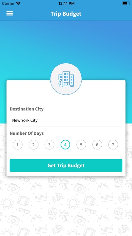 vacay trip cost calculator by triphobo