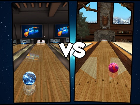 Galaxy Bowling HD для iPad