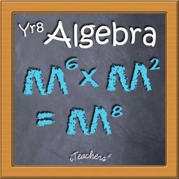 Algebra Year 8 Maths