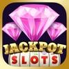 3 Pink Jackpot Diamonds Slots