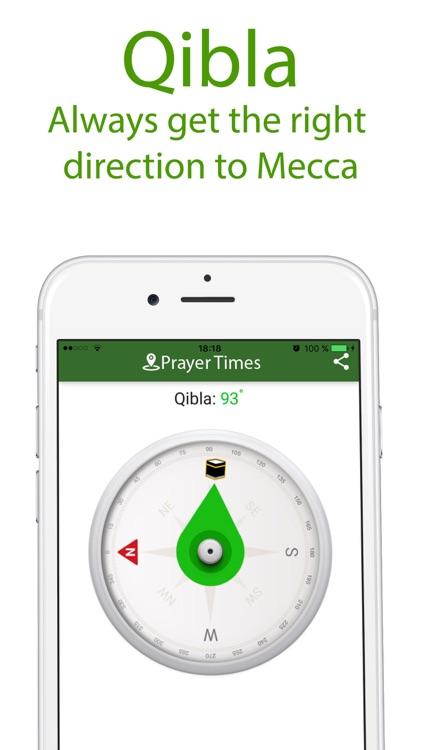 Muslim Program - Prayer times, Qibla pro