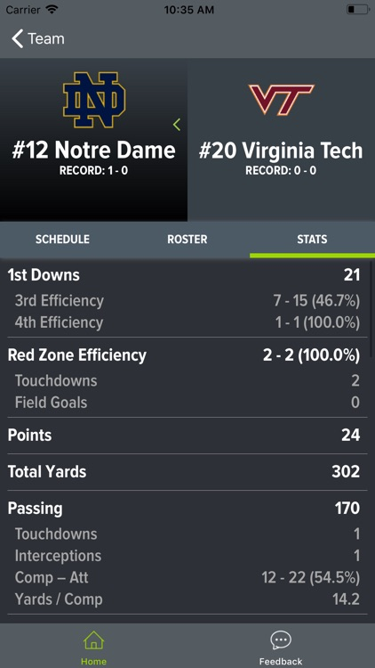 Virginia Tech Football screenshot-4