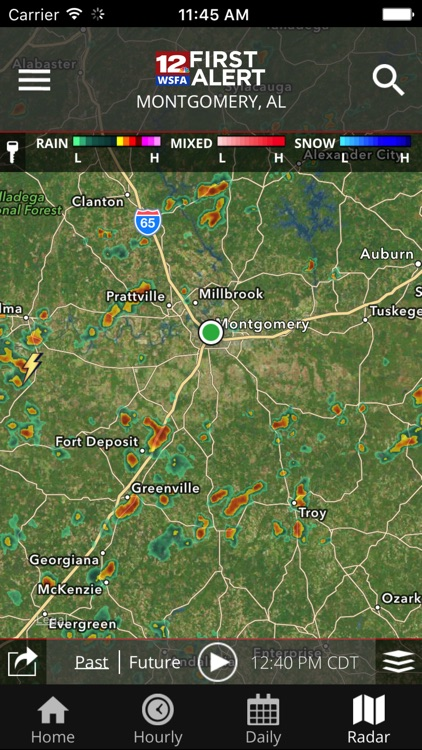 WSFA First Alert Weather screenshot-4