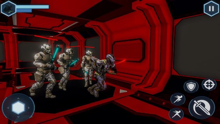 Space Cyborg-Sword Fighting 3D screenshot-3