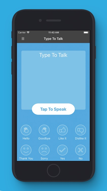 MyVoice- Tap or Type to Talk screenshot-0