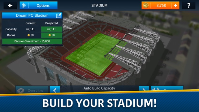 Build Your Own Football Stadium Online