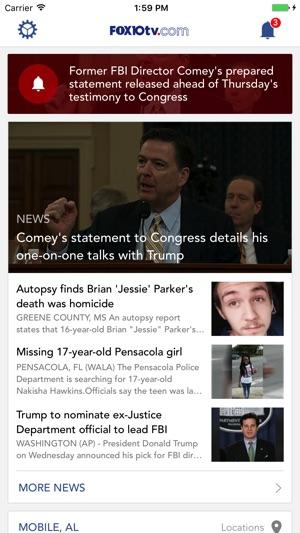 FOX10 News Mobile Alabama WALA on the App Store