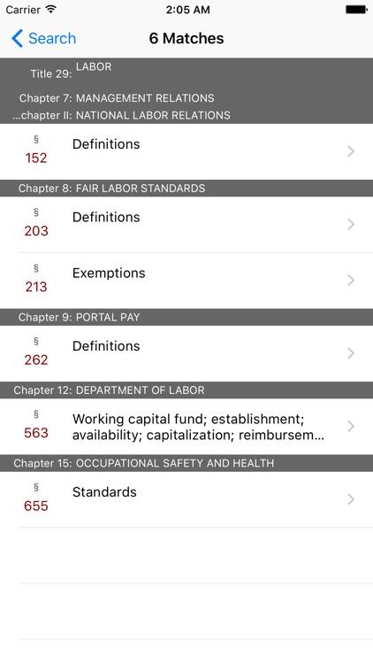 29 USC by LawStack screenshot-4