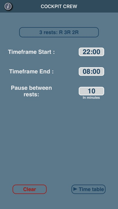 Screenshot for Crew Rest in Germany App Store