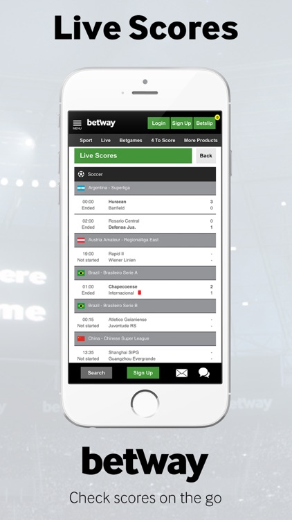 Betway - Sports Betting screenshot-4
