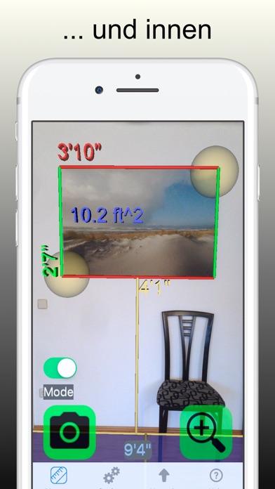 Messen mit Video Kamera 3DScreenshot von 2