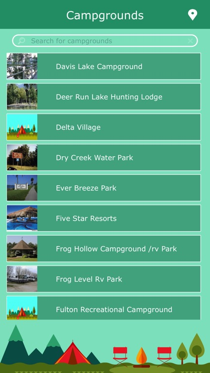 Mississippi RV Campgrounds screenshot-1